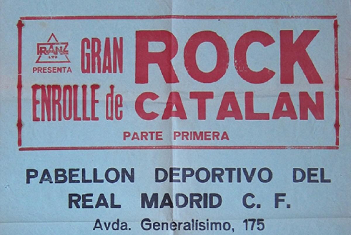 Cartell Enrolle del Rock Catalán