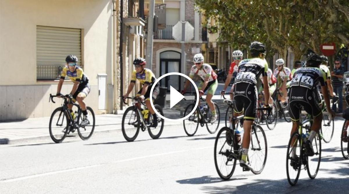 Imatge d'uns ciclistes