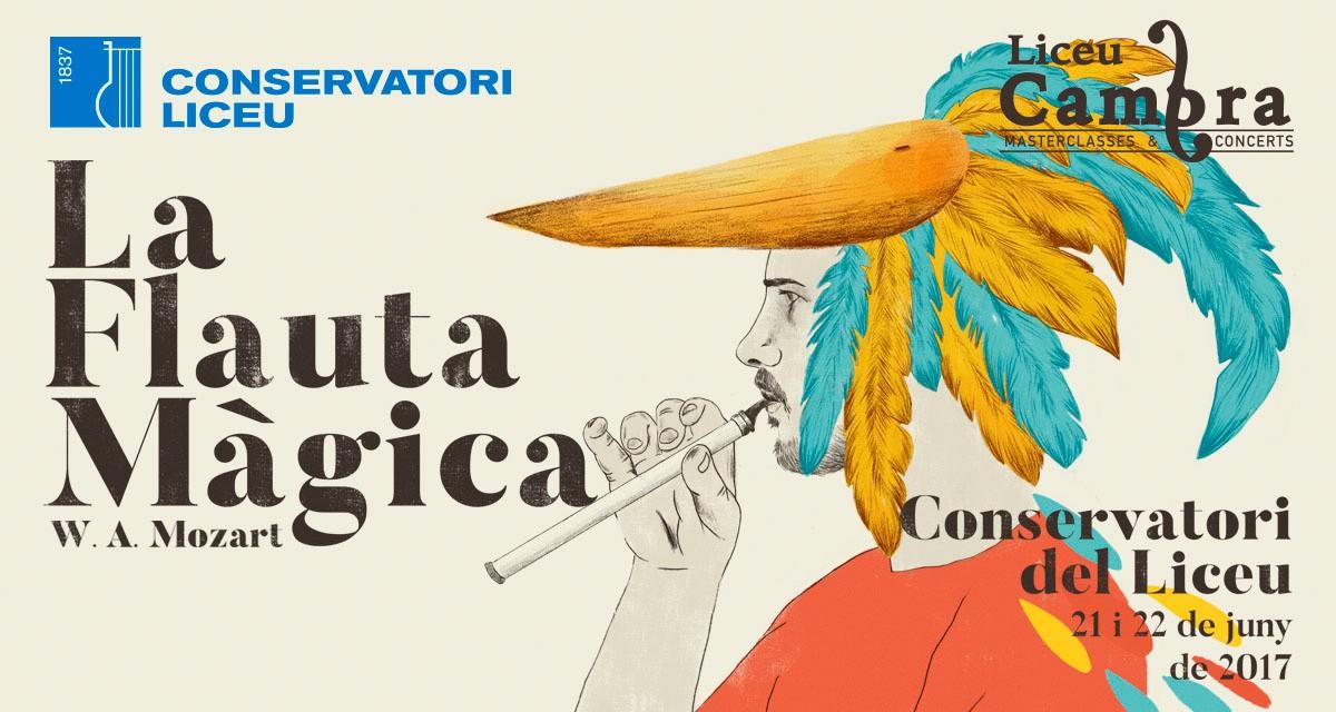 Cartell dels dos concerts del Conservatori del Liceu