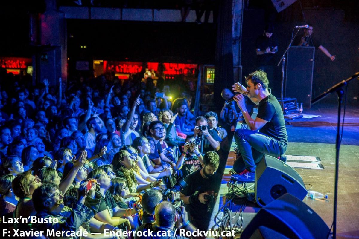 Salva Racero al concert final dels 30 anys de Lax'n'Busto a la sala Razzmatazz