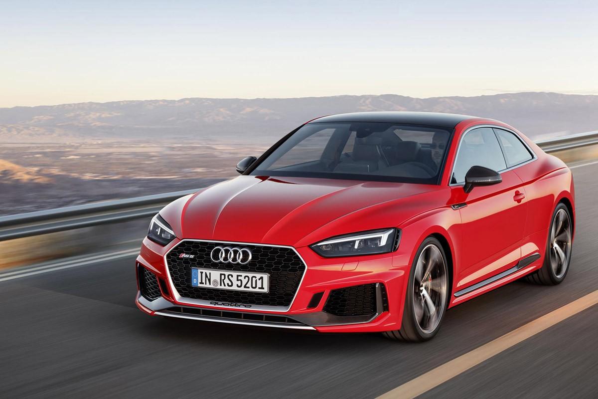 La potència del V6 en un nou format: l'Audi RS 5 Coupé