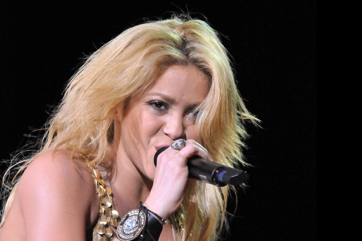 Shakira el 2011 a Barcelona