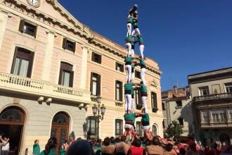 Cap de setmana farcit de castells de vuit a Sabadell