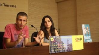 La CUP de Terrassa sorteja dos passis per veure els castells de Festa Major des del balcó de l'Ajuntament