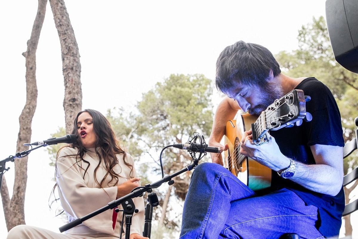 Rosalía i Raül Refree en concert