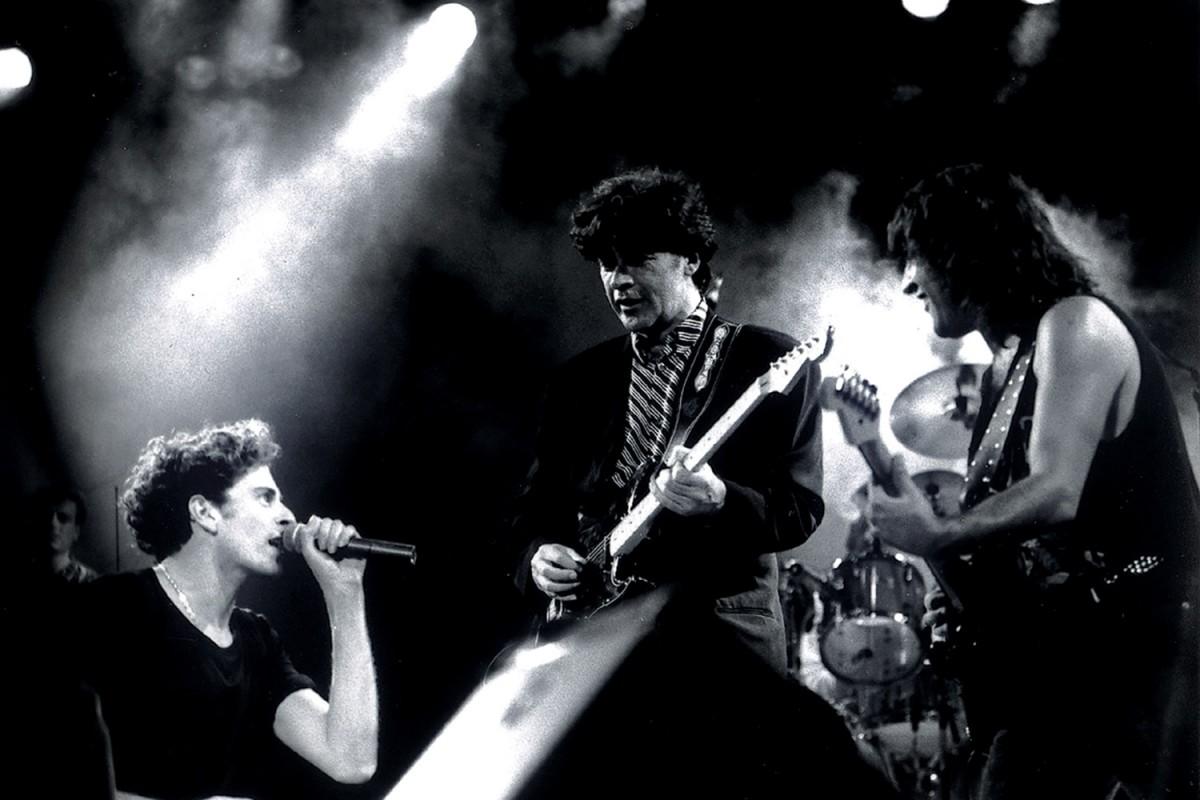Sau i Robbie Robertson (The Band) al 'Concert de Mitjanit' a la Monumental