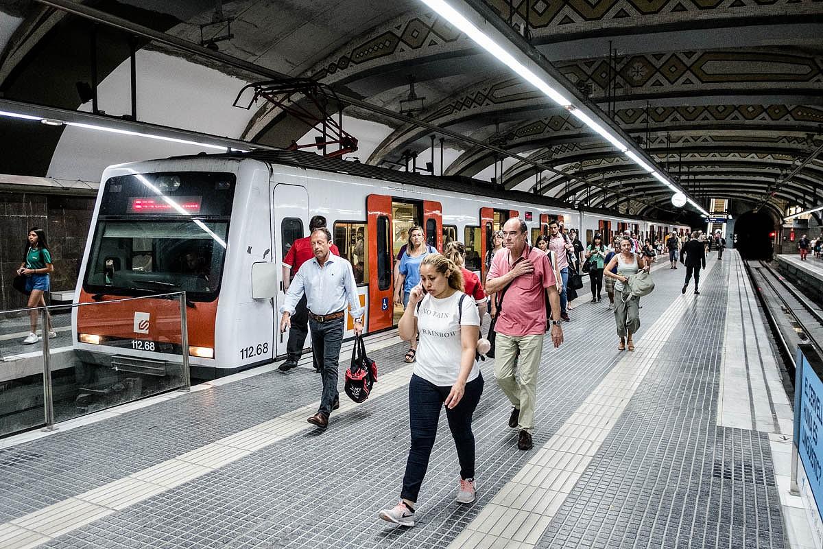 Estació dels Ferrocarrils de la Generalitat de Catalunya.