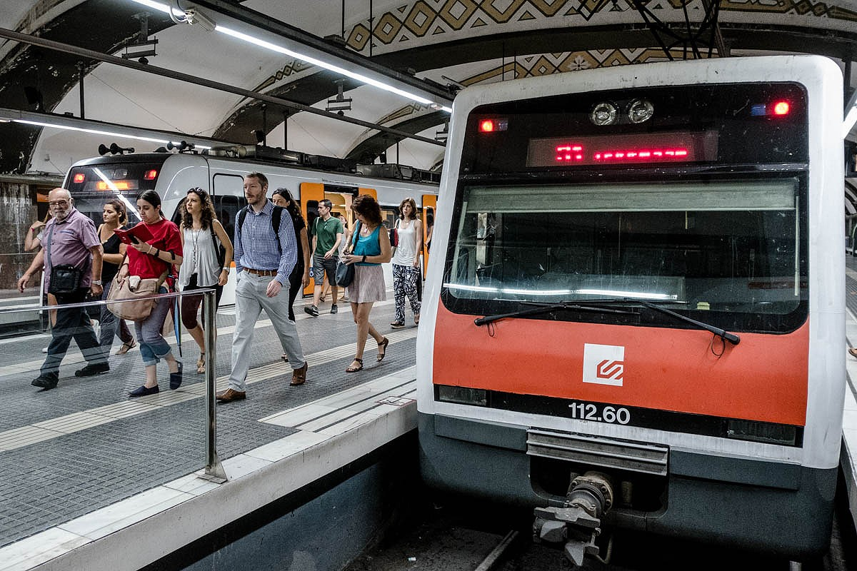 Estació de FGC de plaça Catalunya