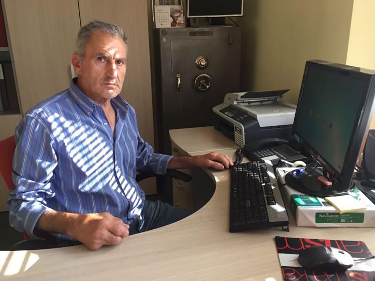 L'alcalde de Lles de Cerdanya, Andreu Grau