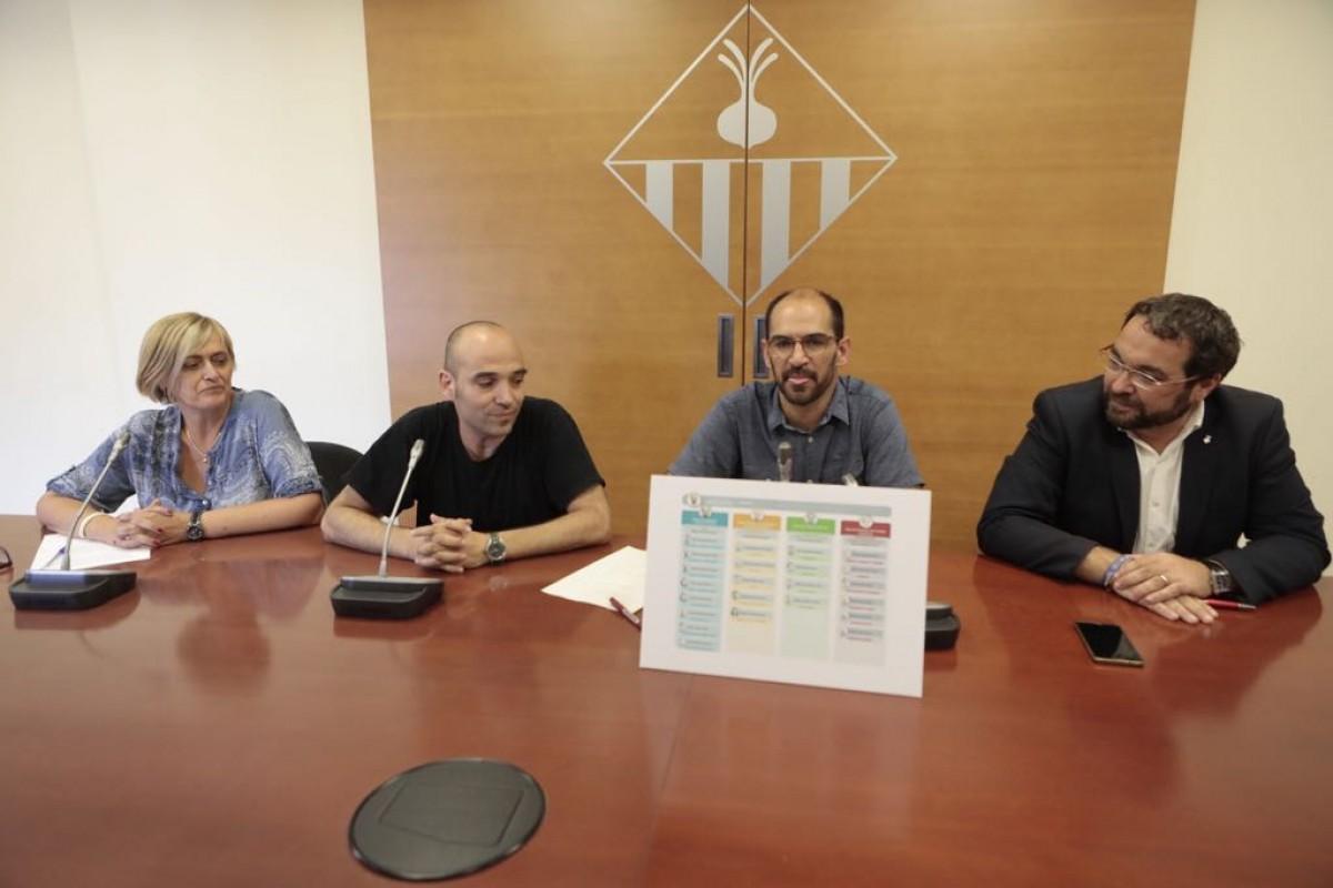 Presentació del cartipàs de Sabadell
