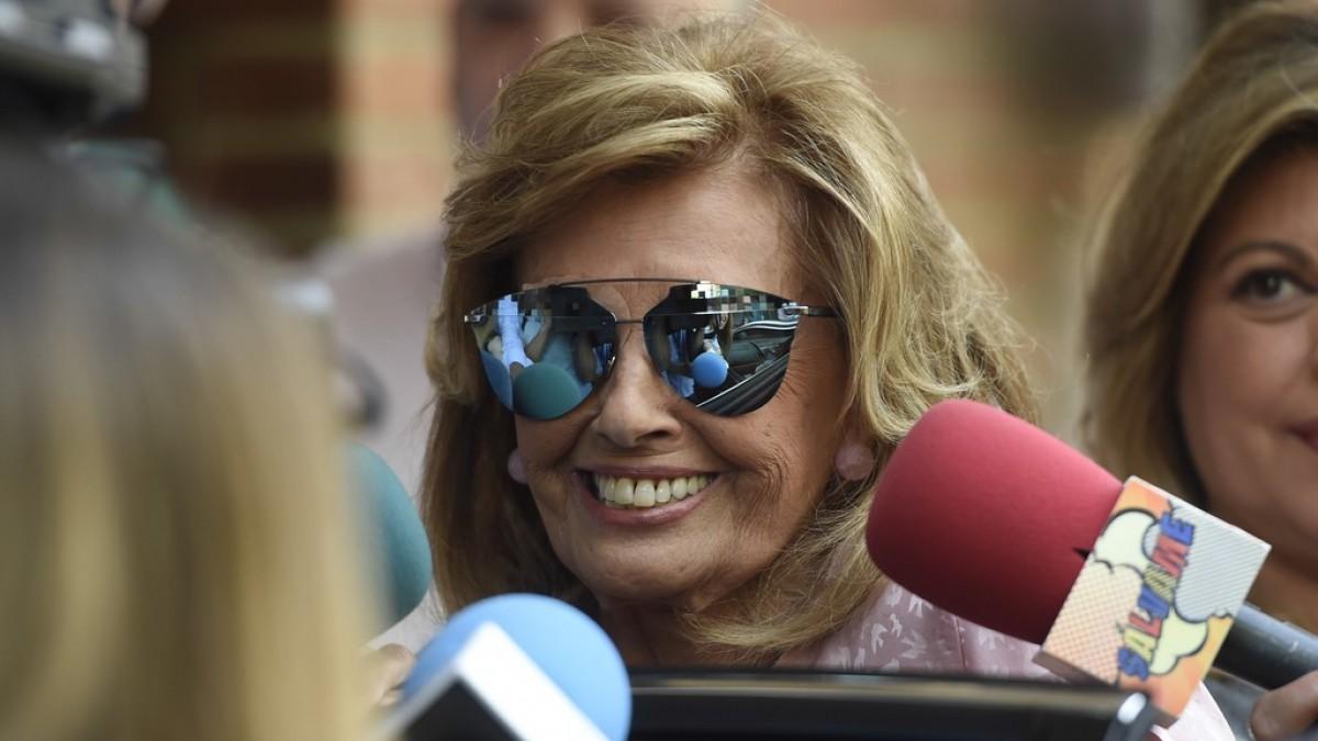 María Teresa Campos, en una imatge d'arxiu