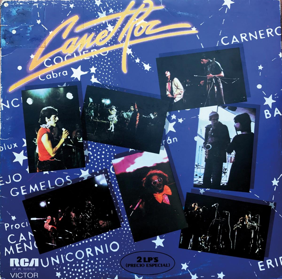 Caràtula del doble LP 'Canet Roc'
