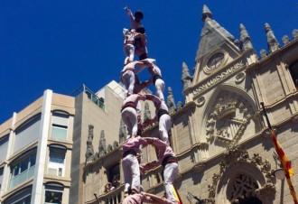 Els Minyons de Terrassa fan la seva Festa Major de deu