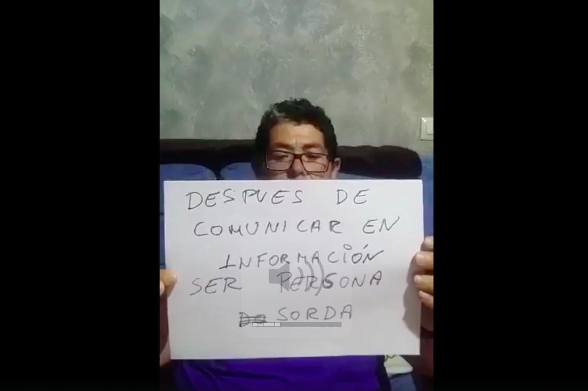 Juan José Aguilera denuncia la seva situació en un vídeo  i envia un missatge a Susana Díaz