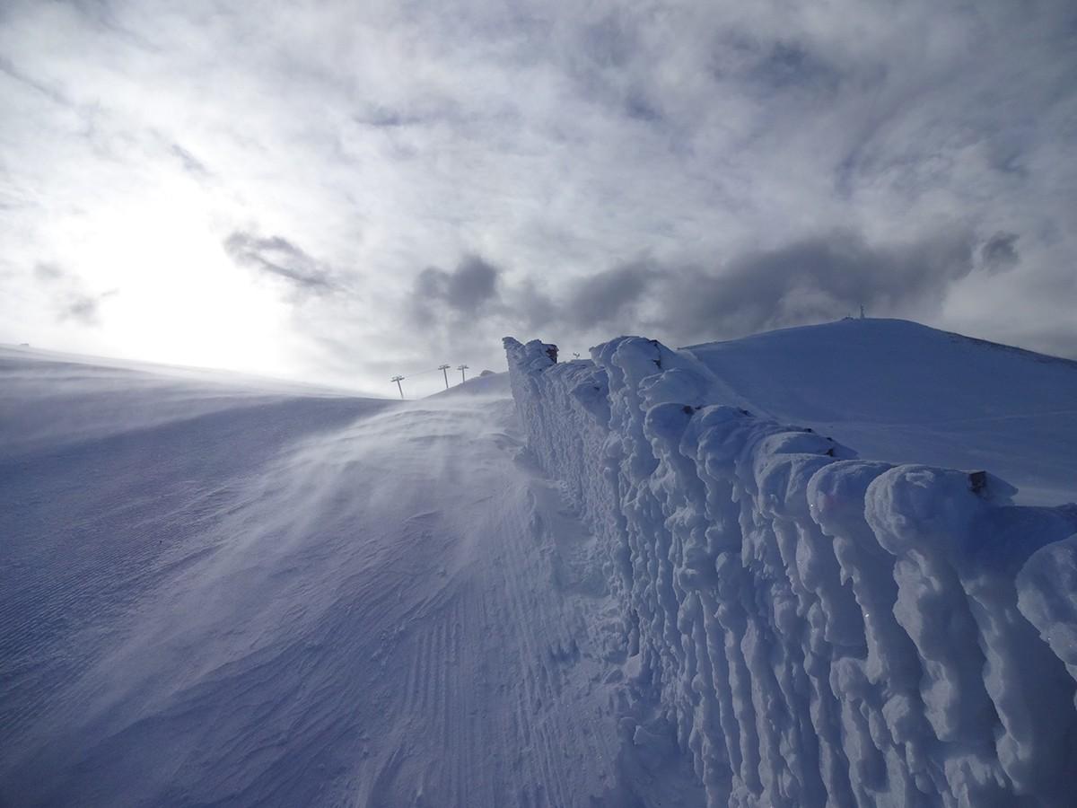 Cim de la Tosa (2.535 m) ben nevat. Dimecres potser veurem nevar als cims de la Cerdanya.