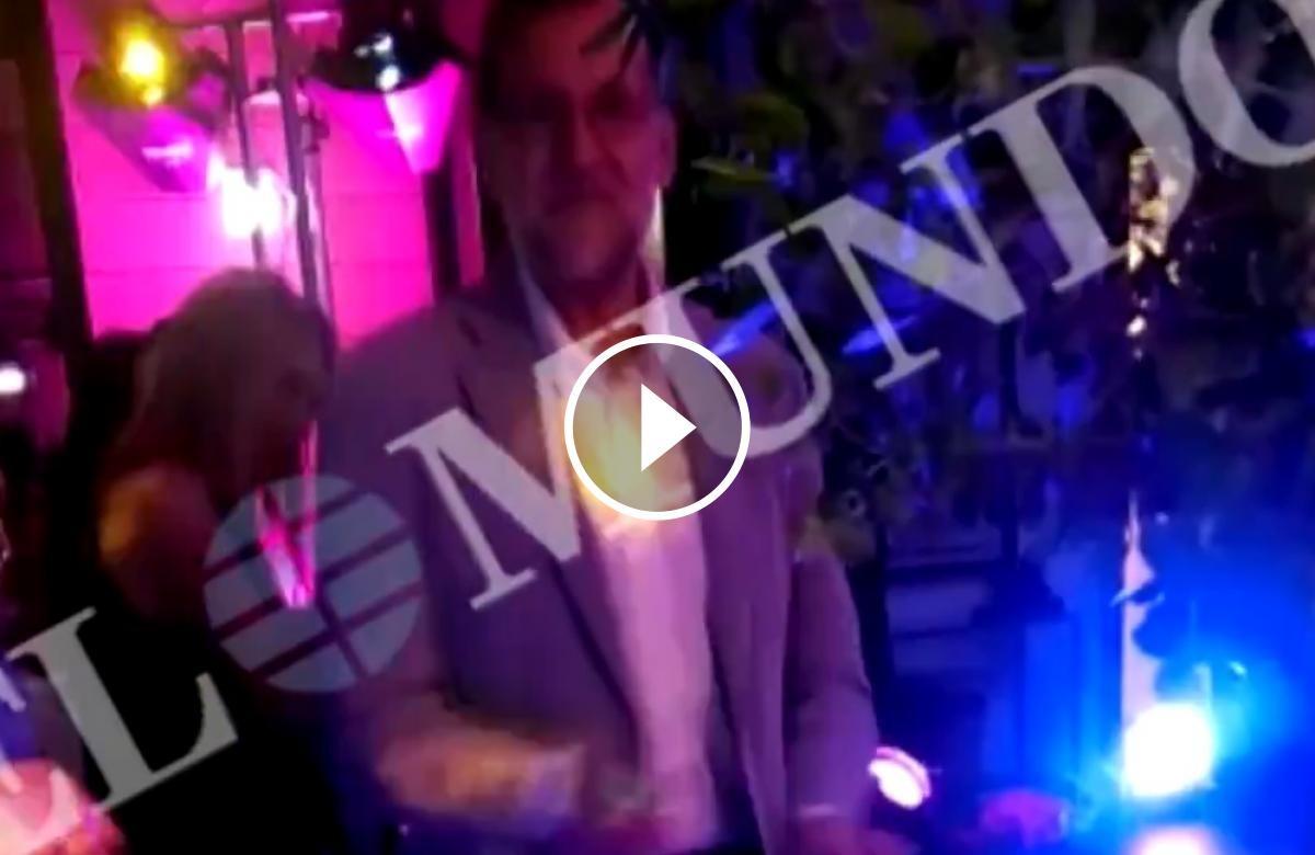 Mariano Rajoy ballant