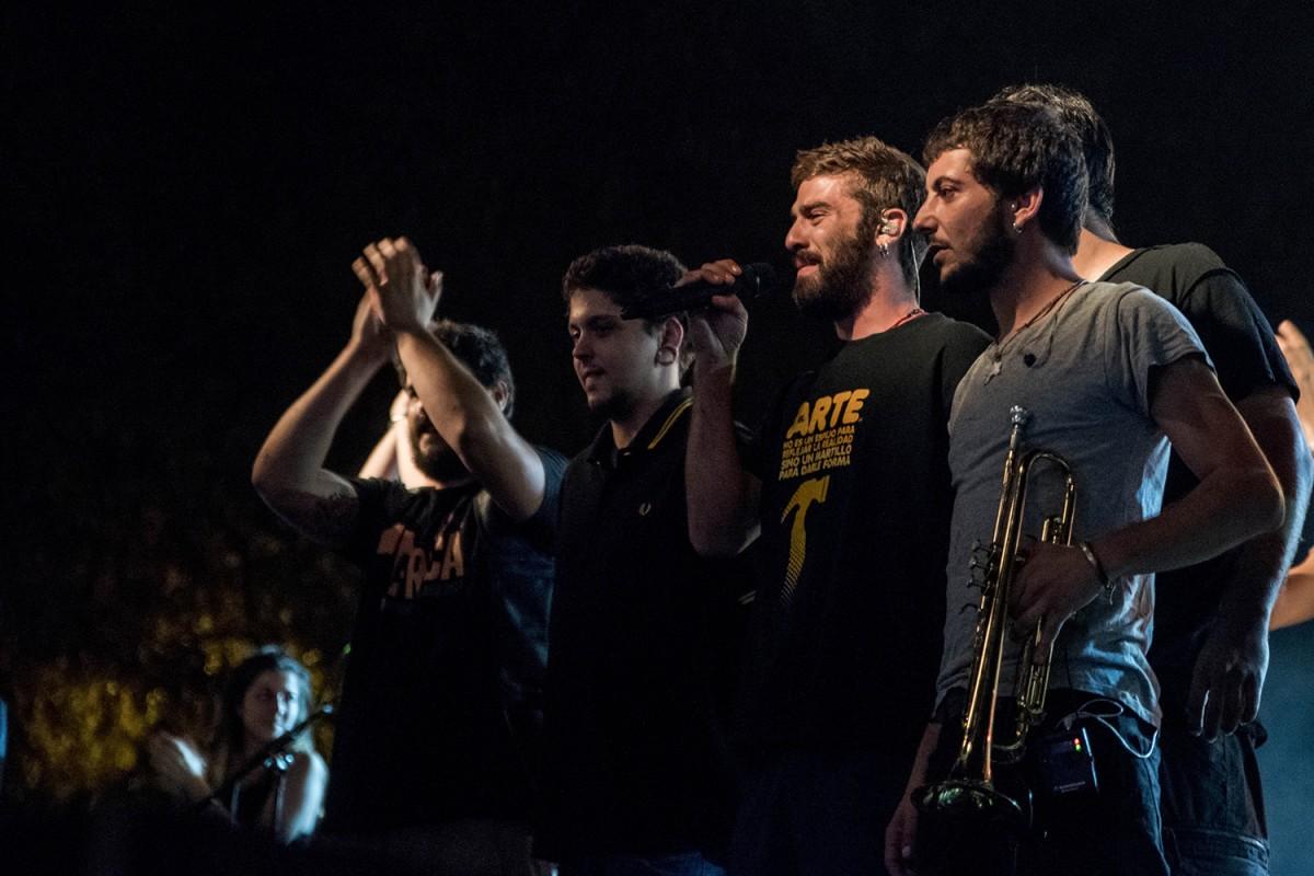 Itaca Band a les Festes de Sants