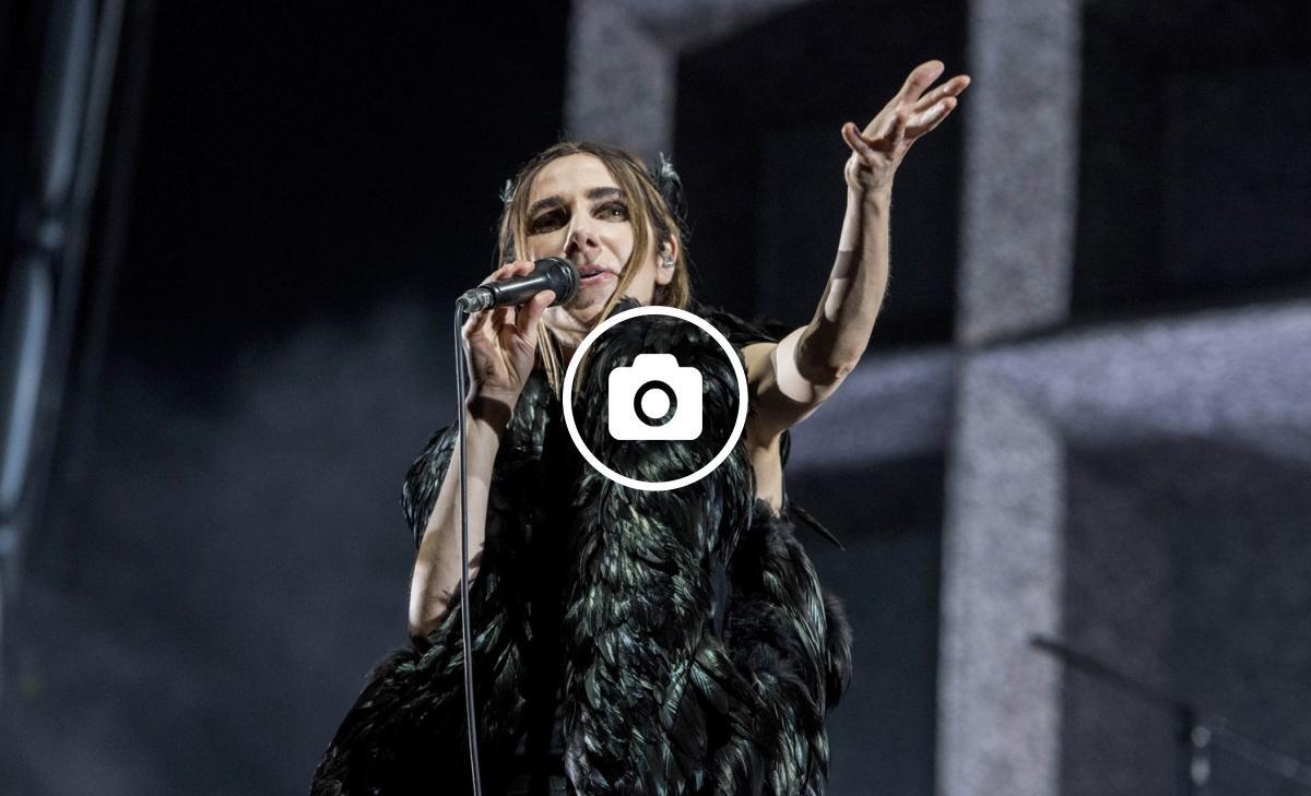 Polly Jean Harvey va oferir un concert d'hora i mitja a Barcelona