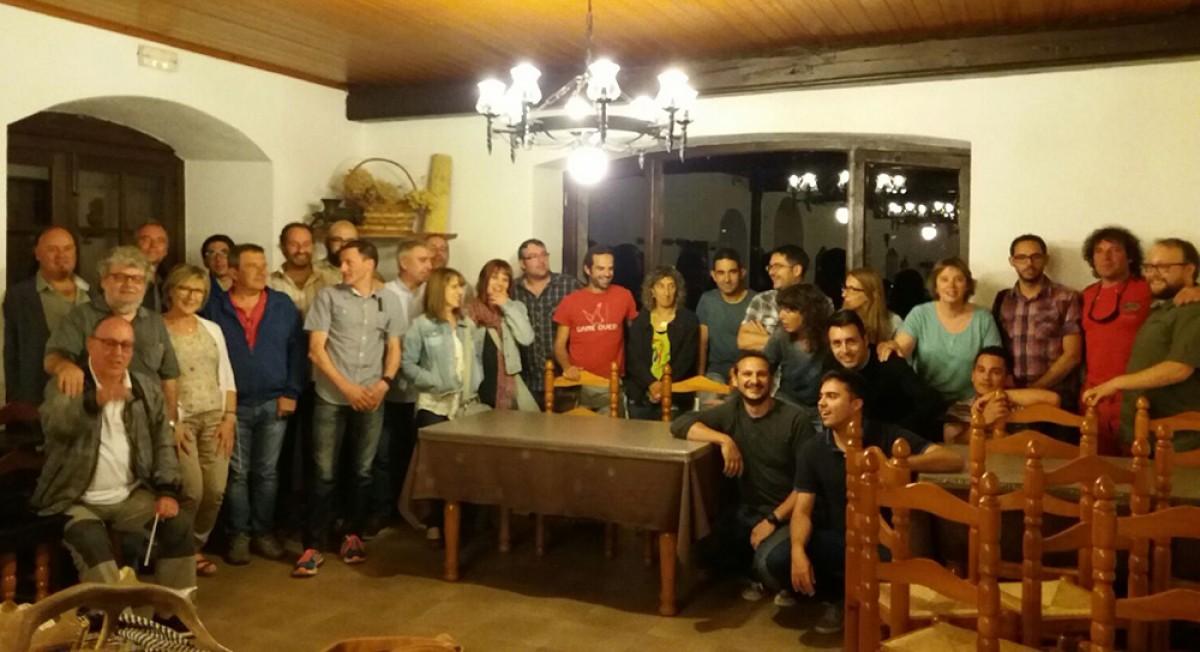 Trobada tricomarcal d'ERC Berguedà, Ripollès i Cerdanya