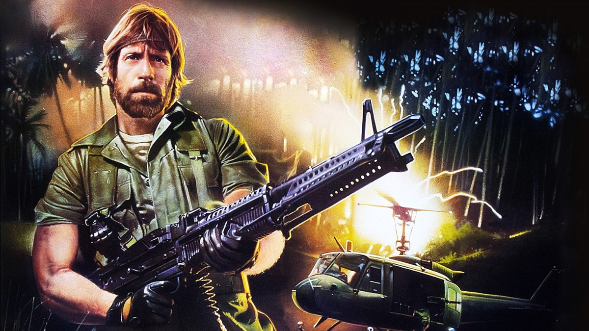 Foto promocional d'una de les pel·lícules de Chuck Norris