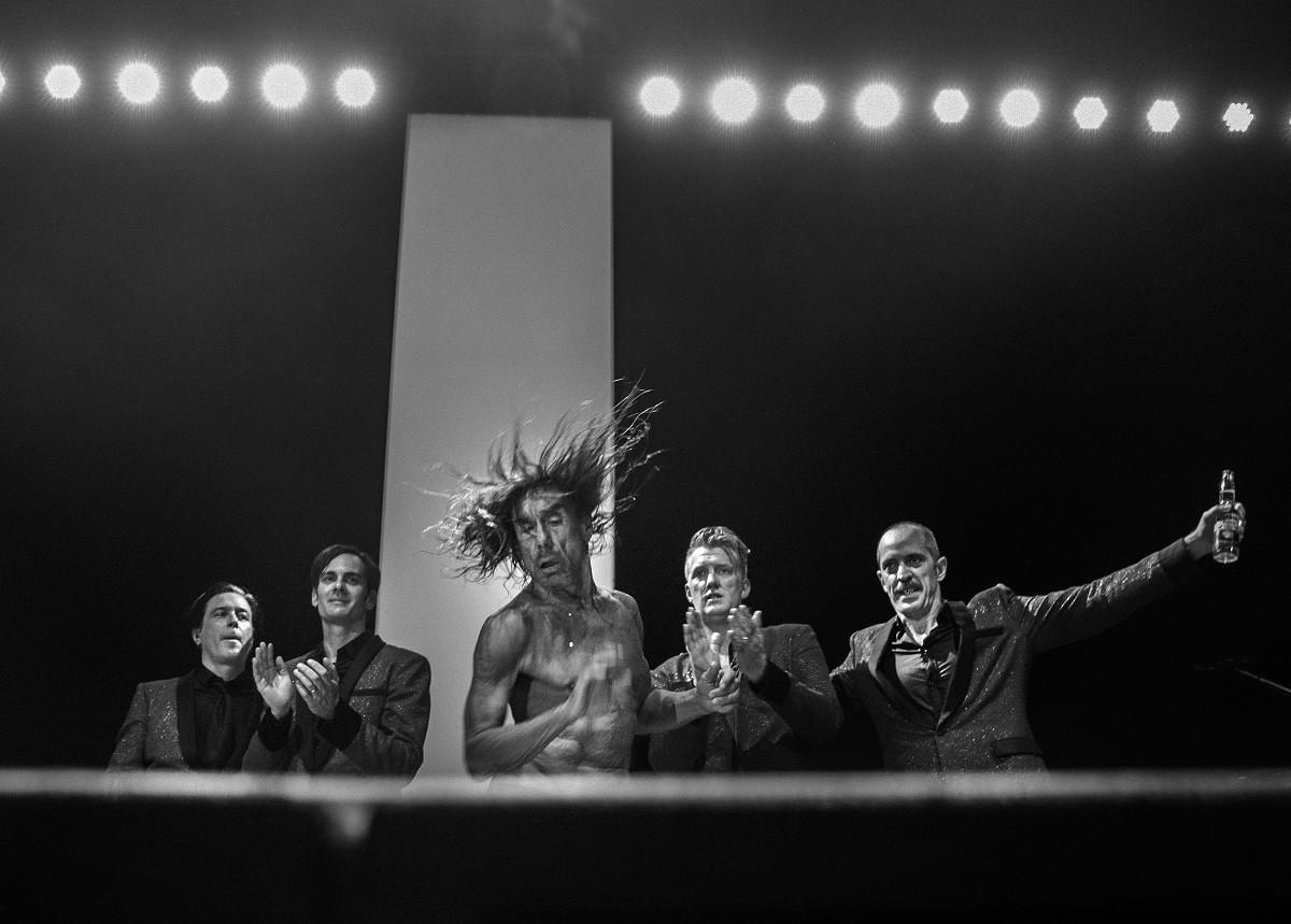 Imatge del documental «American Valhalla» amb Iggy Pop i Josh Homme