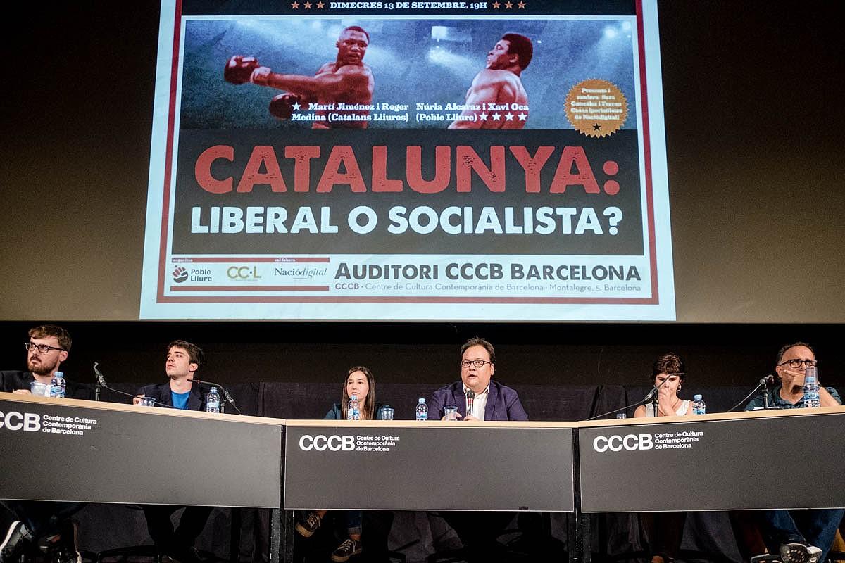 Debat al CCCB sobre el procés constituent