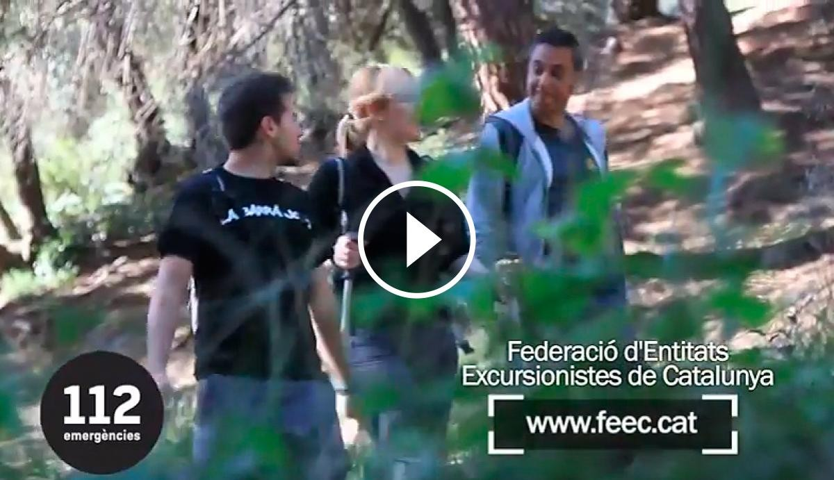 Uns excursionistes