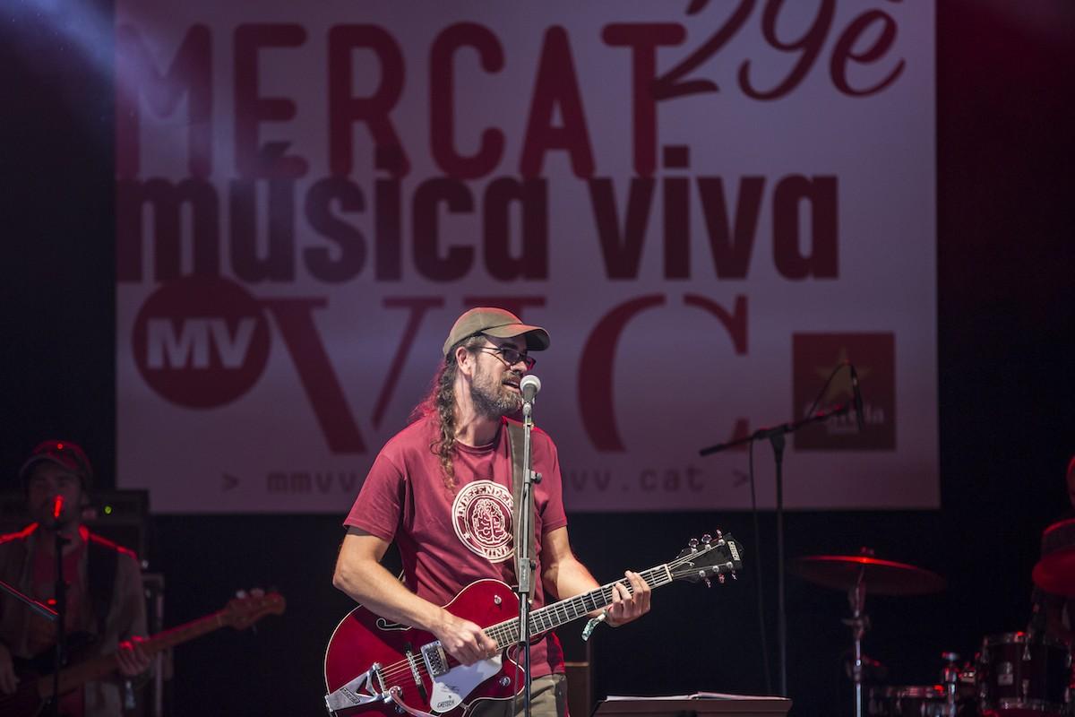 Natxo Tarrés al Mercat de Música Viva de Vic