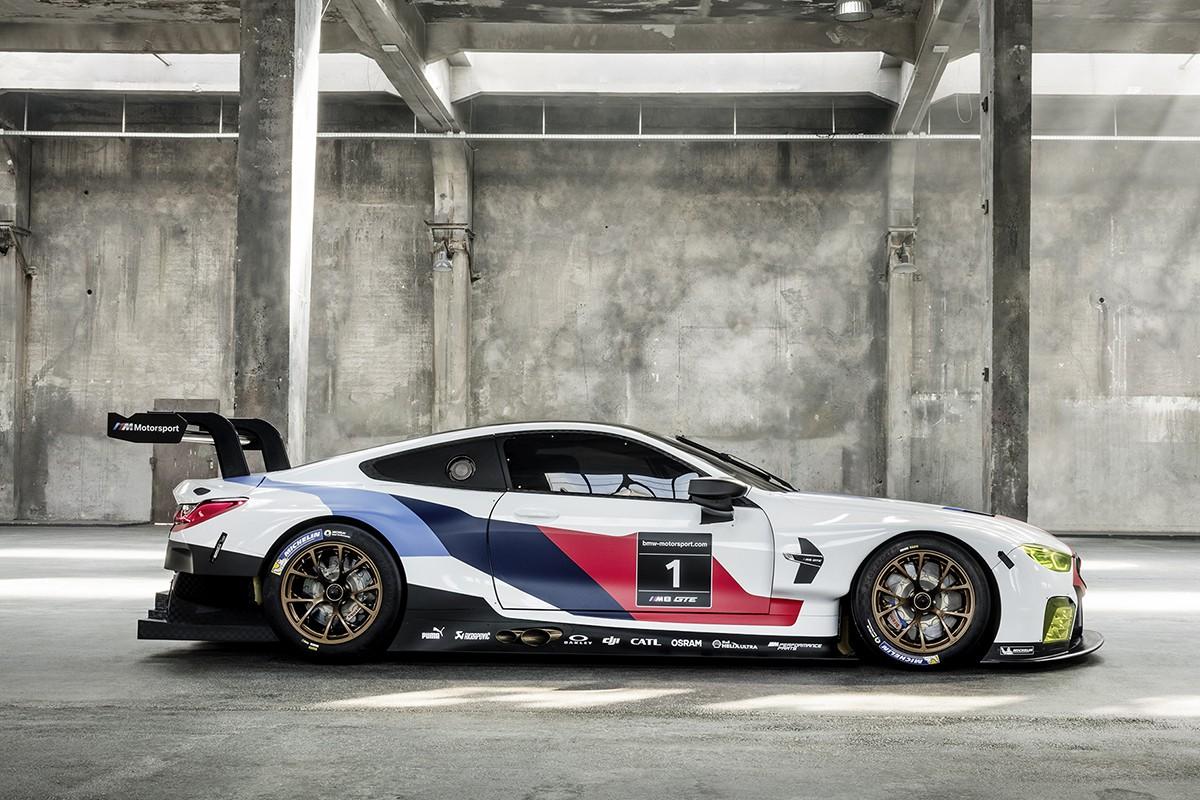 BMW torna al mundial de resistència FIA amb el M8 GTE