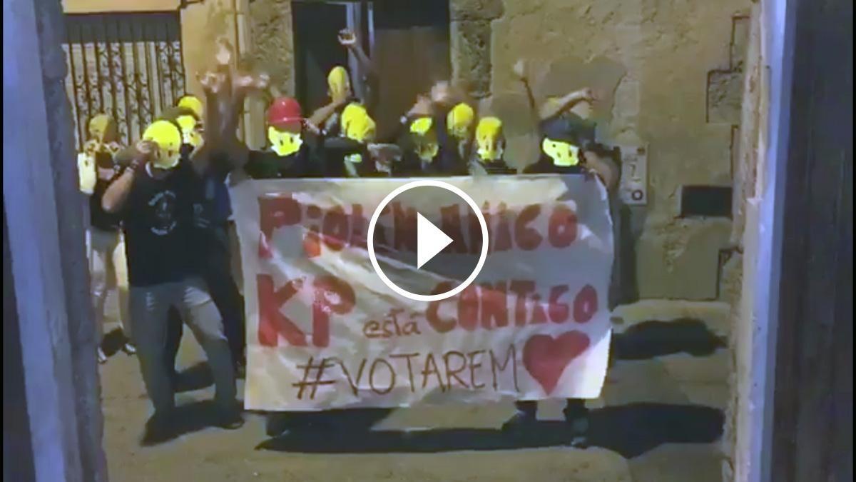 El vídeo del suport a Piolín dels veïns de Capellades