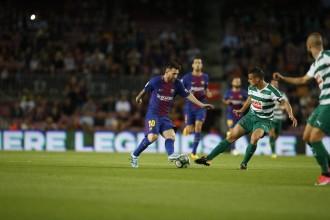 El Barça s'imposa amb claredat a l'Eibar amb quatre gols de Messi (6-1)
