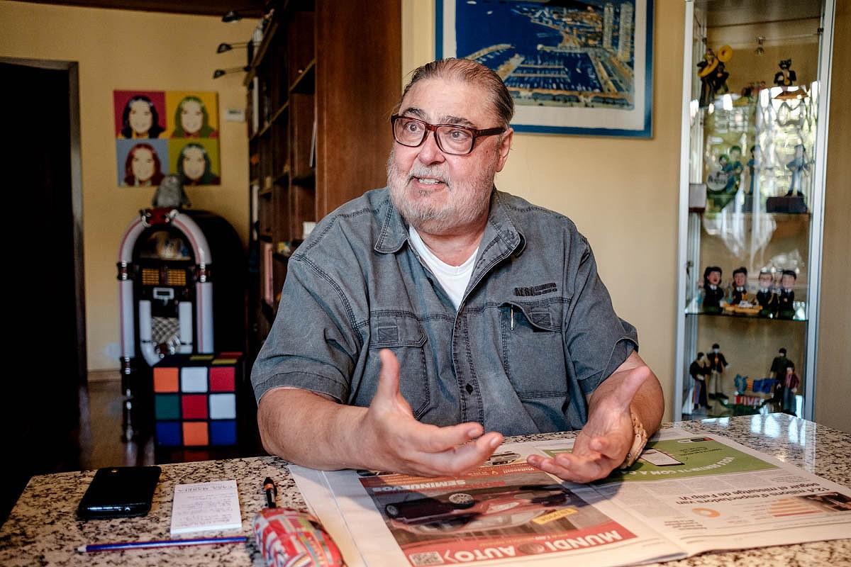 Antonio Franco, en una imatge d'arxiu