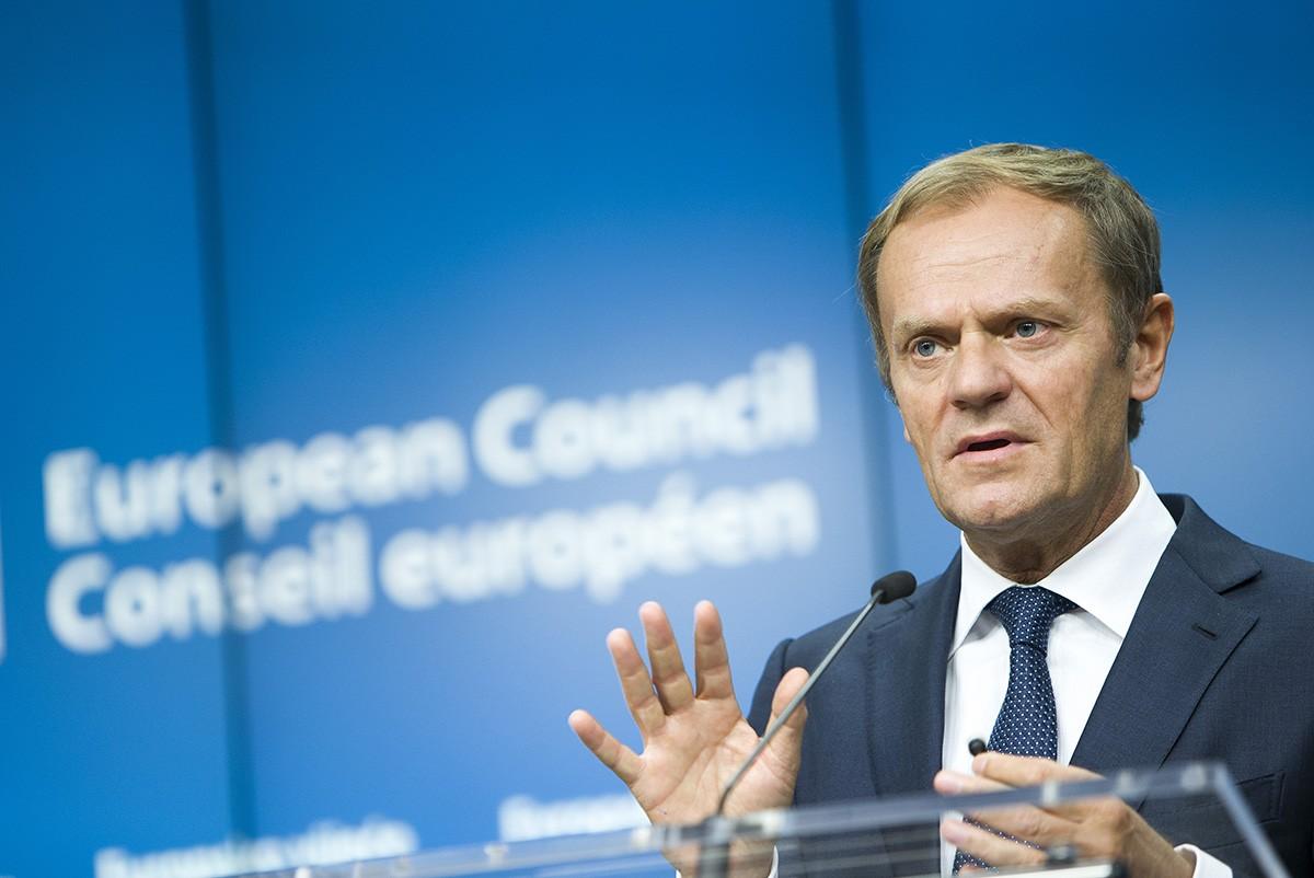 El president del Consell Europeu, Donald Tusk, en una imatge d'arxiu