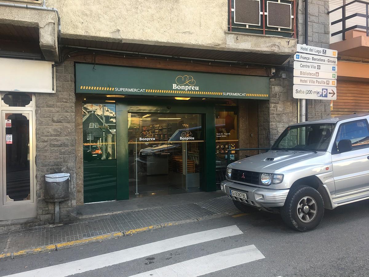 Imatge del supermercat que Bonpreu té a Puigcerdà