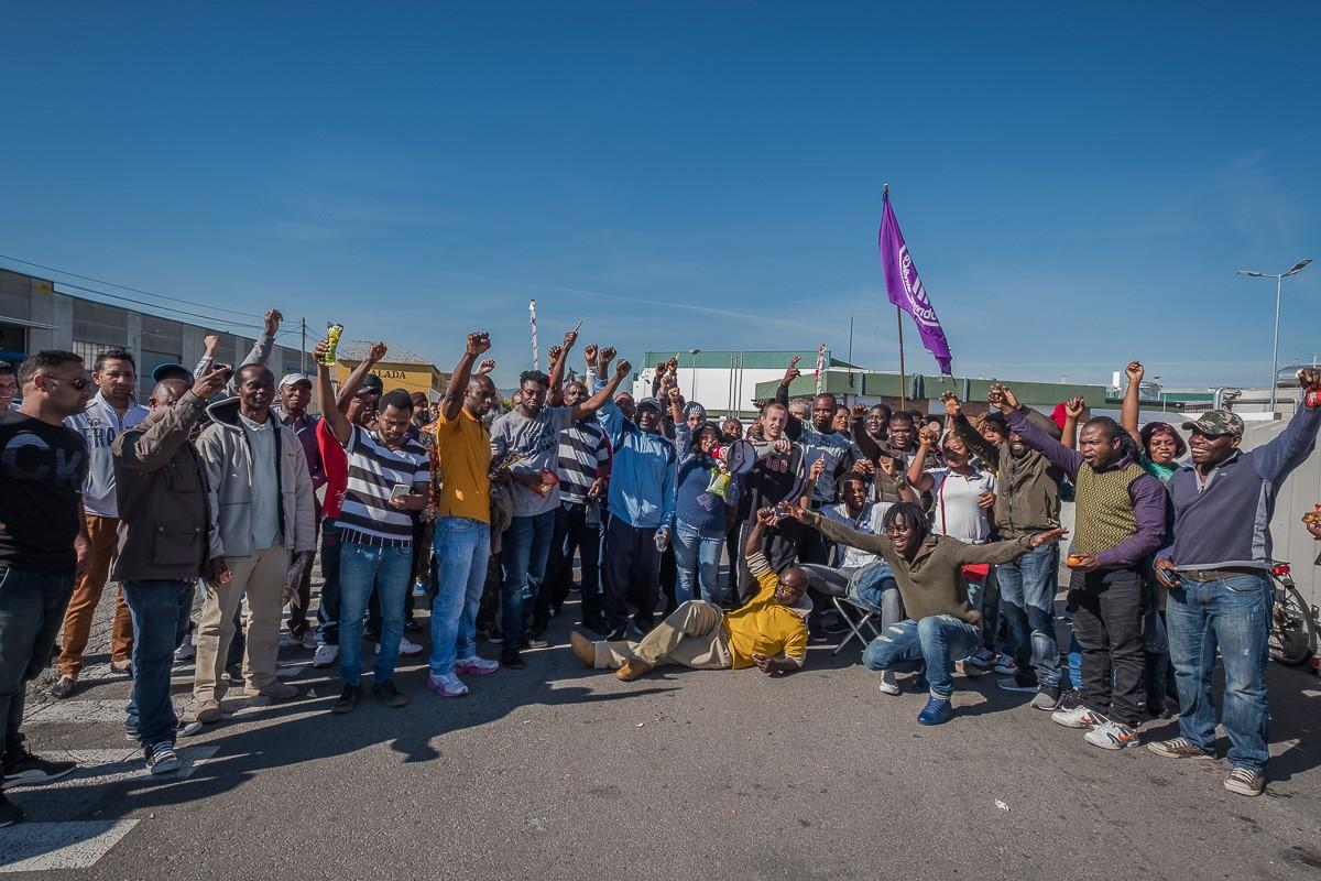 La primera vaga de treballadors a Le Porc Gourmet