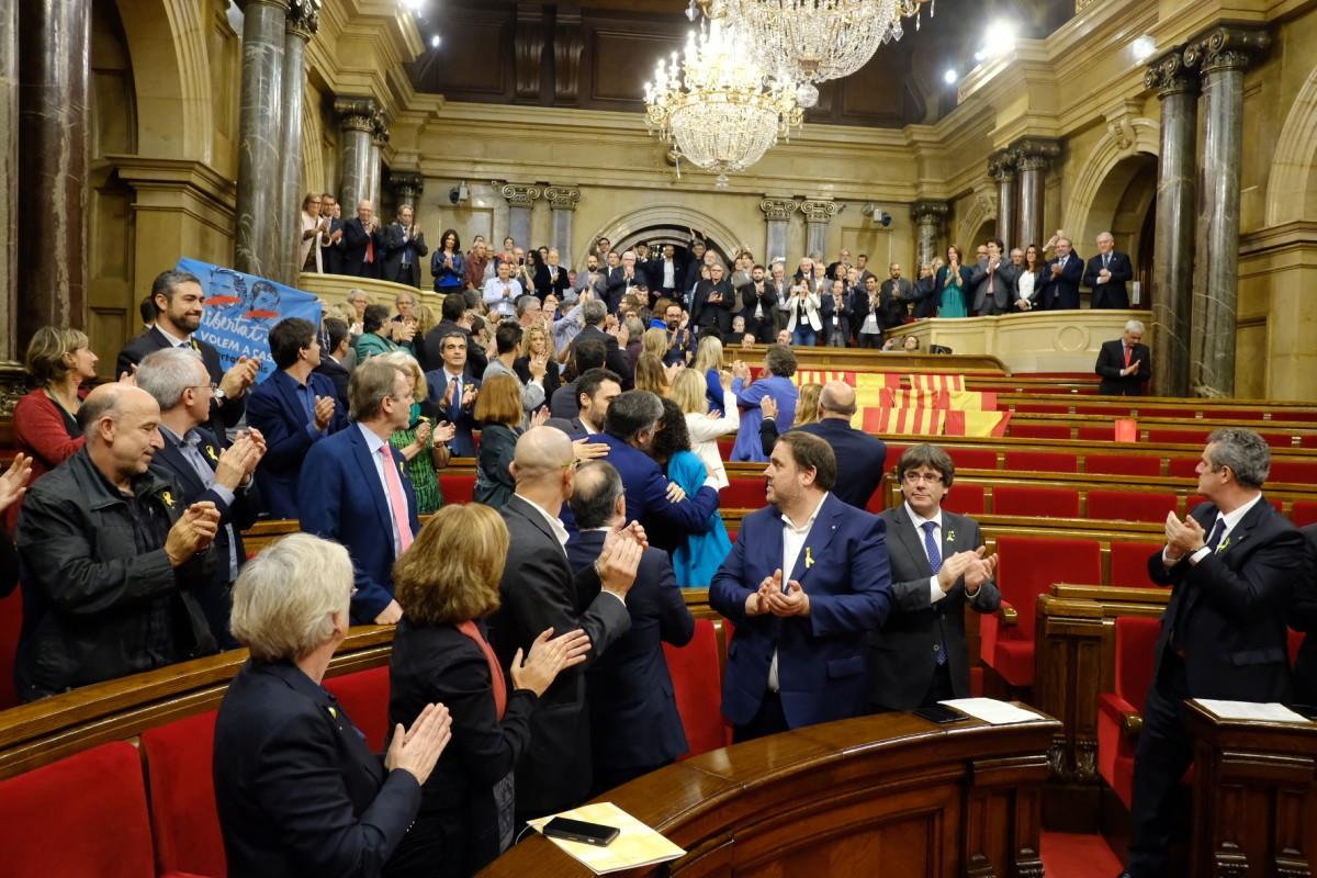 El Parlament ha declarat la independència