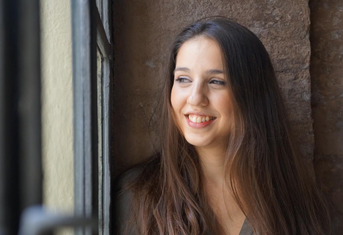 Gemma Humet a l'Antiga Fàbrica d'Estrella Damm