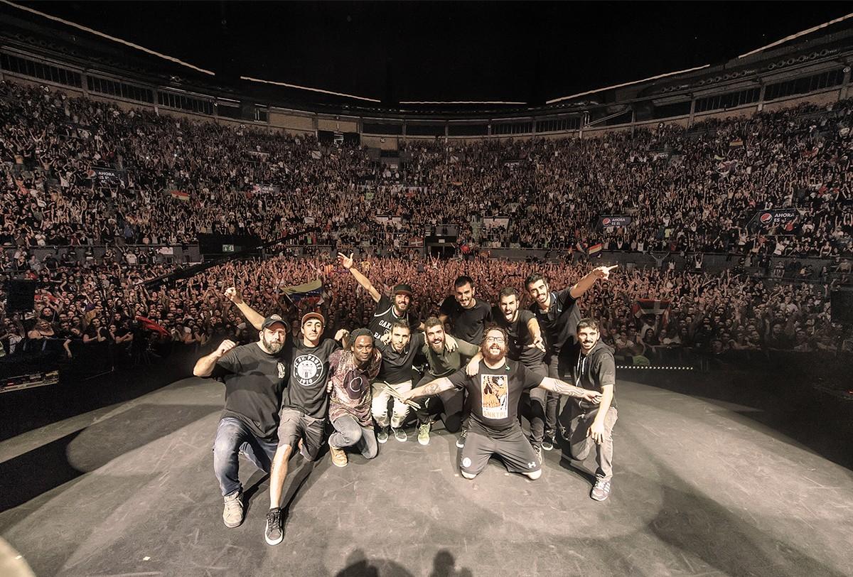 La Raíz al fi de gira al Palacio de Vistalegre de Madrid