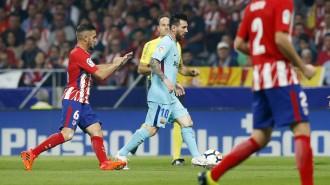 El Barça aconsegueix un treballat empat a l'estadi de l'Atlètic de Madrid (1-1)