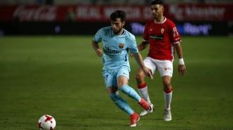 Els suplents del Barça encarrilen el pas a vuitens de final de la Copa del Rei (0-3)