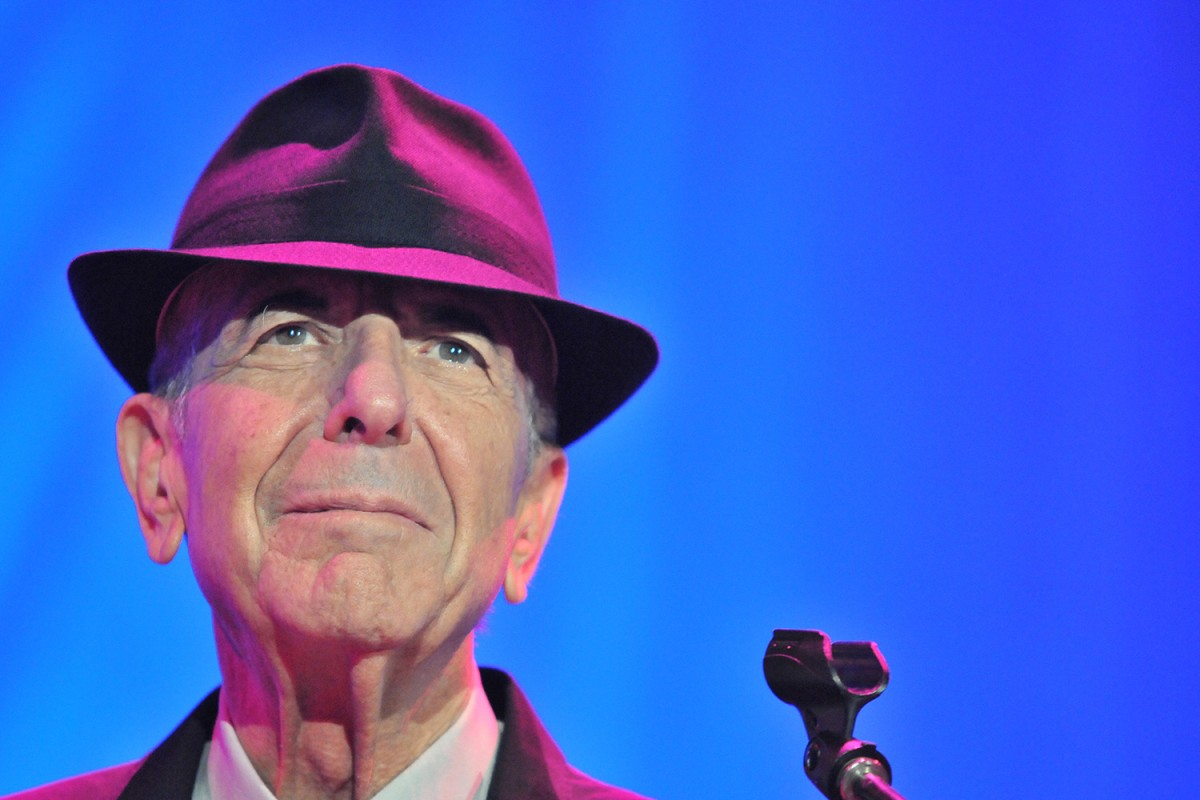 Leonard Cohen el 2012 a Barcelona