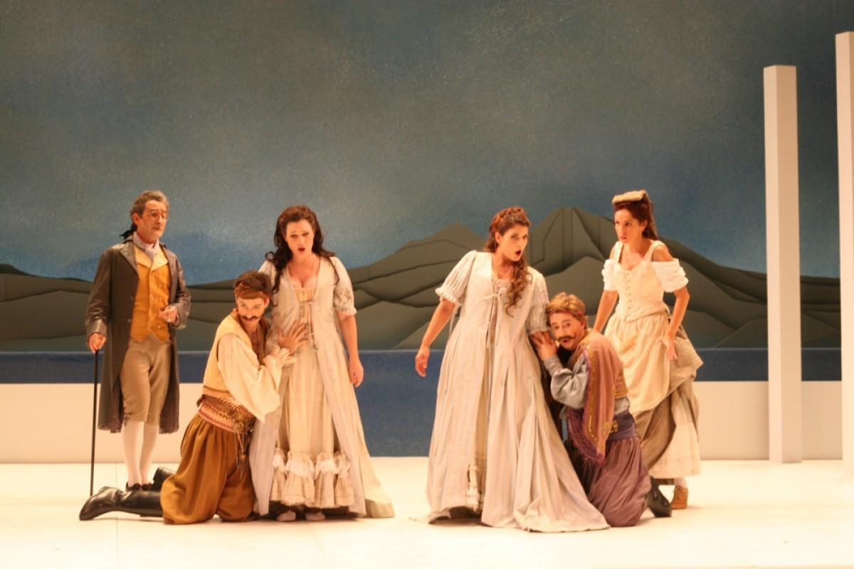 Così fan tutte, en la producció d'Amics de l'Òpera