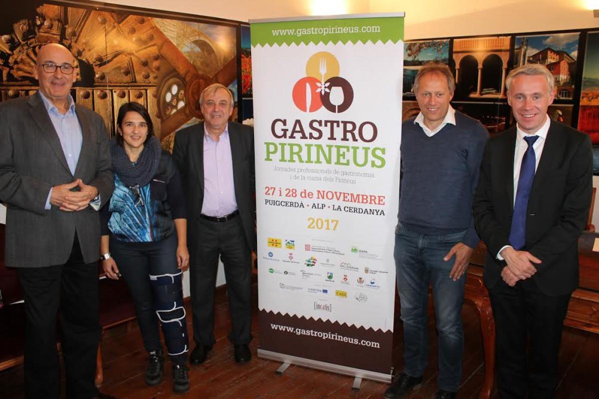 Acte de presentació de Gastropirineus a Puigcerdà aquest dilluns 13 de novembre
