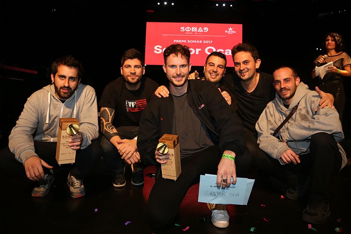 Senyor Oca han rebut el primer premi del concurs Sona9