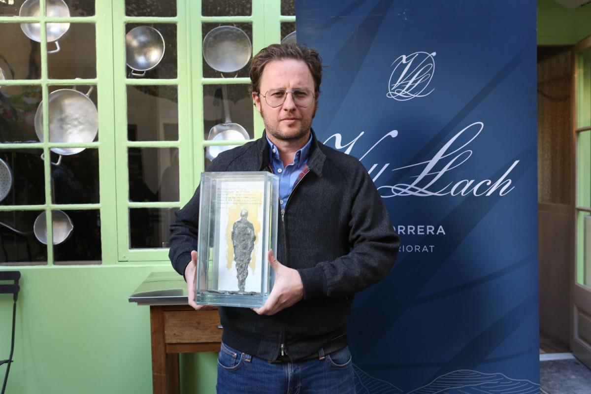 David Carabén, guanyador del X Premi Terra i Cultura