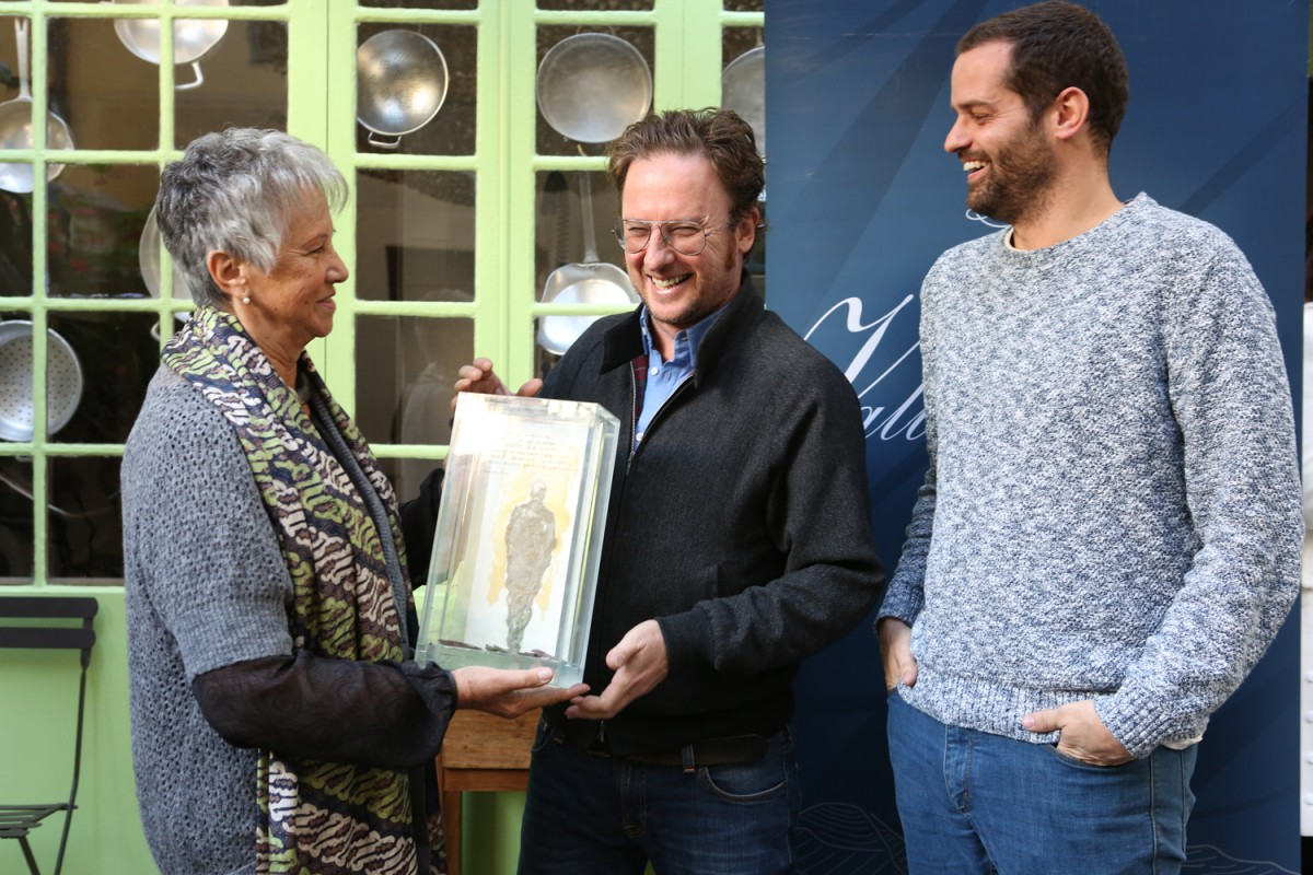 David Carabén ha estat l'últim guanyador del Premi Miquel Martí i Pol del certamen Terra i Cultura