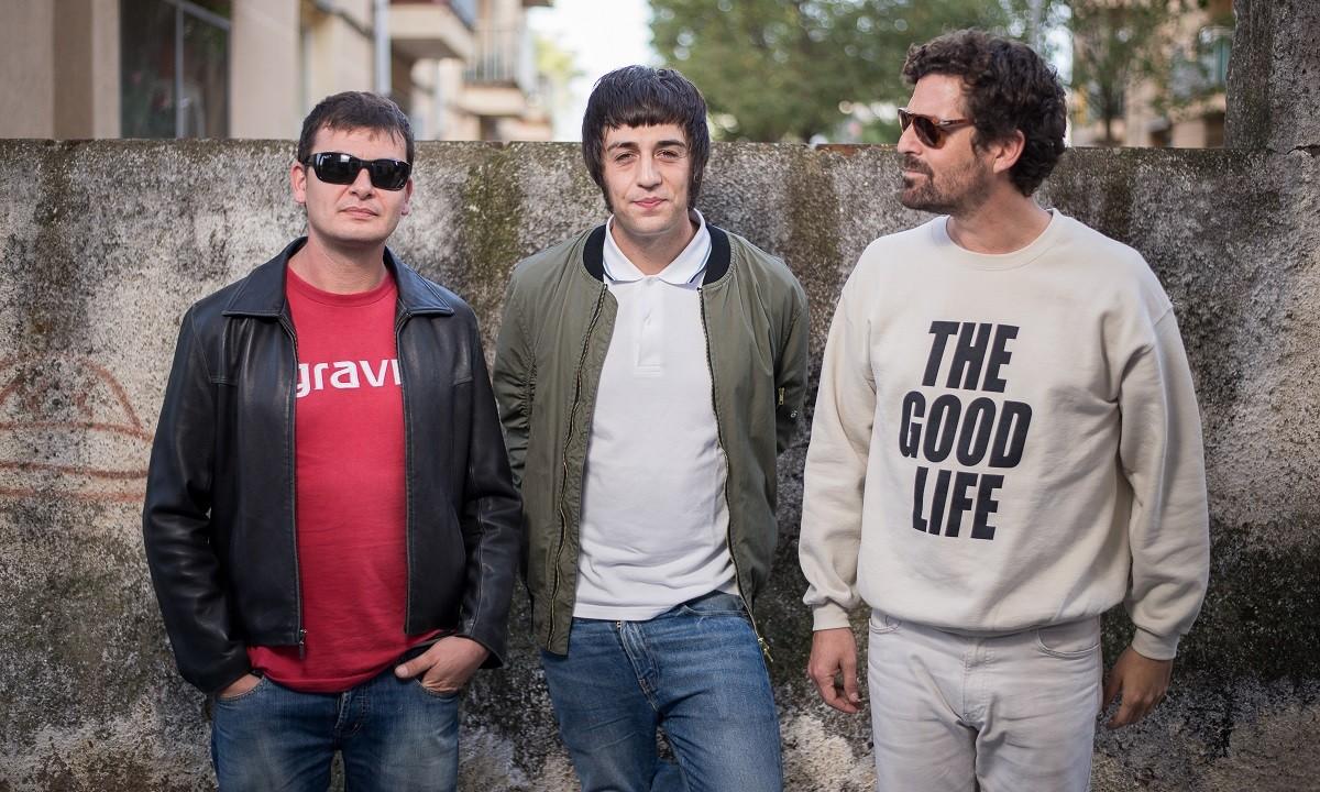 Fetus són (d'esquerra a dreta) Jordi Anticó, Adrià Cortadellas i Lluís Català