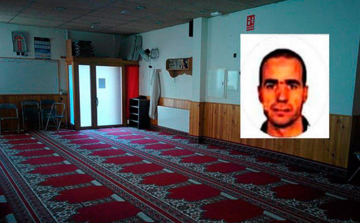 L'imam de Ripoll, a la mesquita