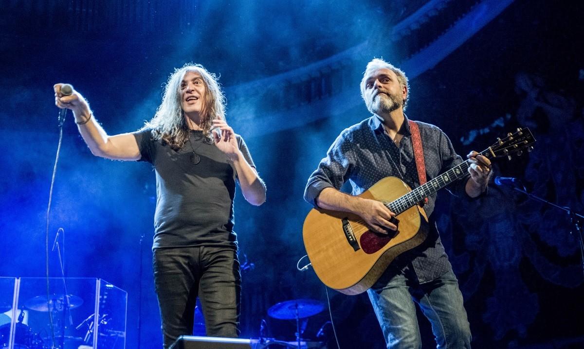 Sopa de Cabra en el seu últim concert al Palau de la Música per celebrar l'aniversari del Diari Ara