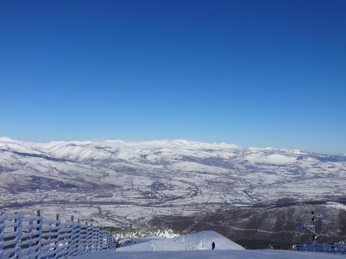 La neu pot tornar a fer acte de presència a la plana cerdana en les properes hores